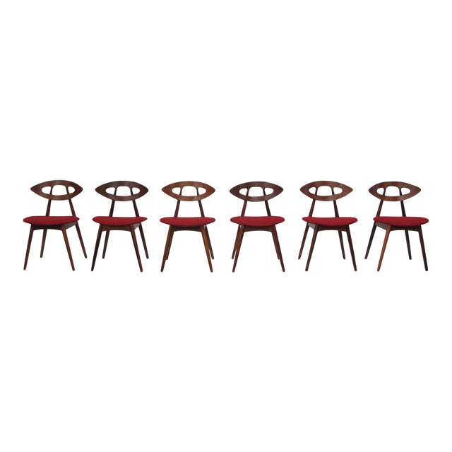 """Sculpting 8 Ejvind A. Johansson Dining """"Eye"""" Chairs For Sale - Image 7 of 11"""