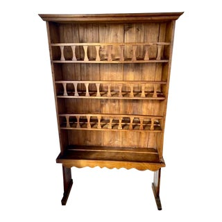 19th Century Display Cupboard For Sale
