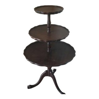Vintage Butler/Pie Crust Table