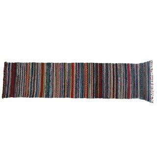 """Scandinavian Handmade Cotton Rug - 2'5"""" x 11'1"""""""