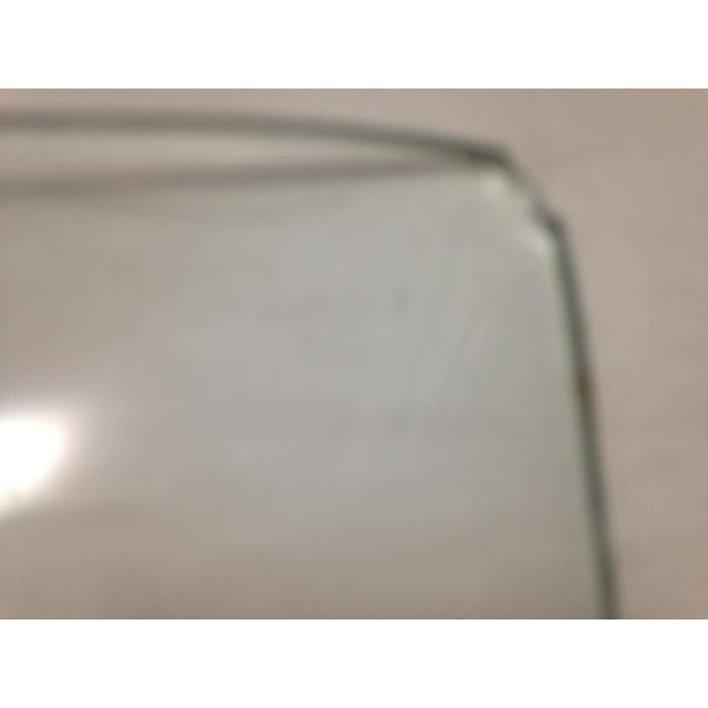 Green Mid-Century Floral Acrylic Tray For Sale - Image 8 of 8