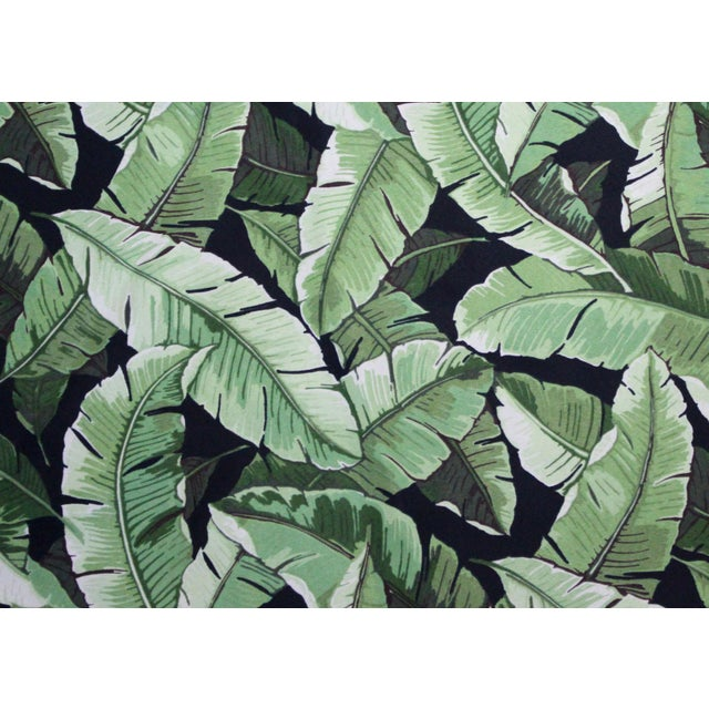 "Inspired by the Mid-Century Americana Polynesian classic ""Swaying Palms"" pattern by Tommy Bahama, this island tree skirt..."