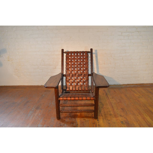 Mid Century Adirondack Chair - Image 3 of 6