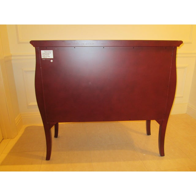 Deep Red Bombe Chest - Image 6 of 9