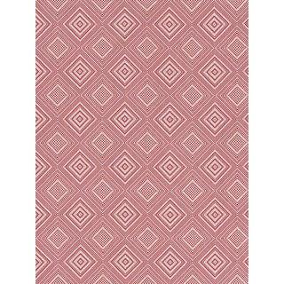 Scalamandre Antigua Weave, Hibiscus Fabric For Sale