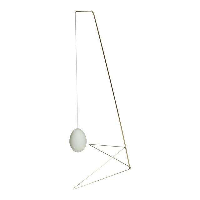 Aaron Silverstein 'Brass Goose Deuce' Sculpture For Sale