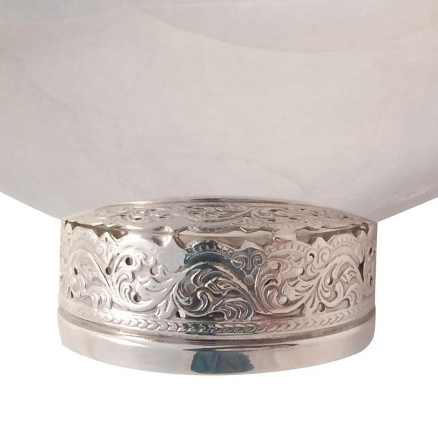 Danish Modern Vintage Danish Silver-Plate Bowl For Sale - Image 3 of 5