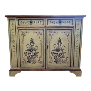 Mid 20th Century Green Painted Cabinet