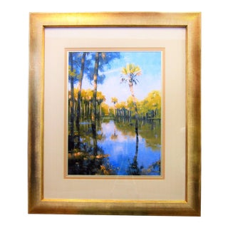 Palm Tree Watercolor Print For Sale