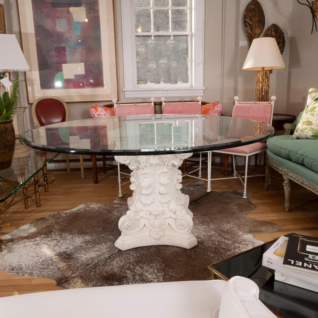 Late 20th Century Round Dining Table For Sale In New York - Image 6 of 8