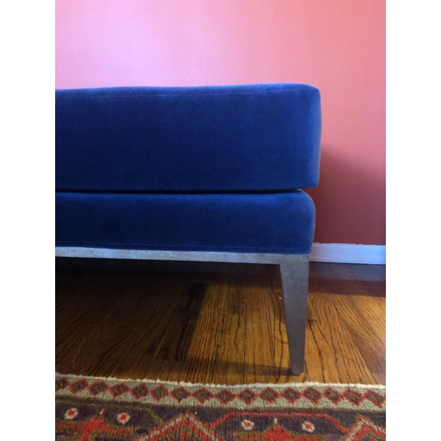 Koket Koket Style Velvet Chaise For Sale - Image 4 of 6