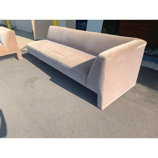 Outstanding Vladimir Kagan Omnibus Lucite Sectional Sofa Chairish Dailytribune Chair Design For Home Dailytribuneorg