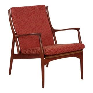 Andersen & Pedersen for Horsnaes Danish Mid Century Modern Arm Chair circa 1965 For Sale