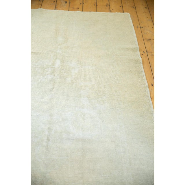 """Distressed Oushak Rug - 4'6"""" X 8' For Sale In New York - Image 6 of 13"""