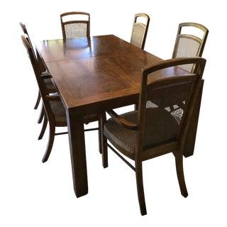 Vintage Drexel Heritage Woodbriar Dining Set