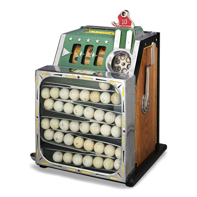 The Comet Golf Ball Vendor by Pace For Sale - Image 4 of 4
