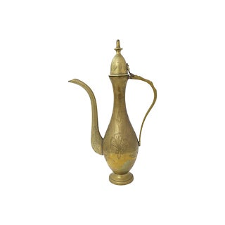 Moroccan Brass Teapot For Sale