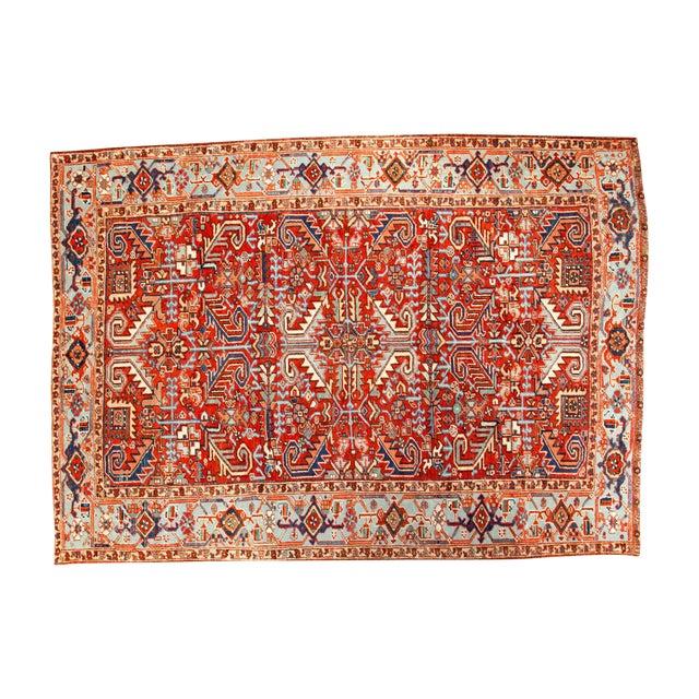 "Vintage Heriz Carpet - 6'11"" X 9'7"" - Image 1 of 8"