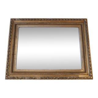 Antique Gilt Wall Mirror For Sale