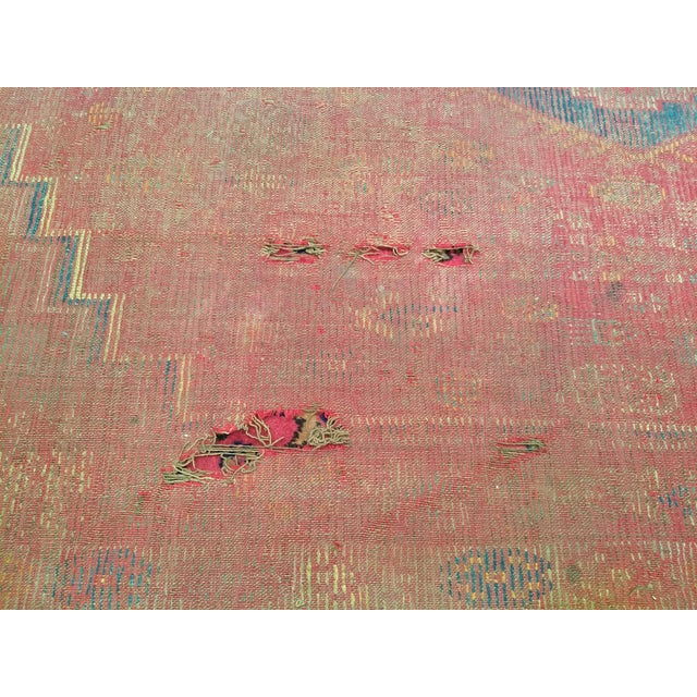 19th Century Moroccan Village Rug - 5′10″ × 14′5″ For Sale - Image 9 of 13