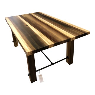 Artisan Made Amish Poplar Farm Table For Sale