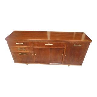 Jasper Furniture Co. Mid-Century Modern Walnut Credenza