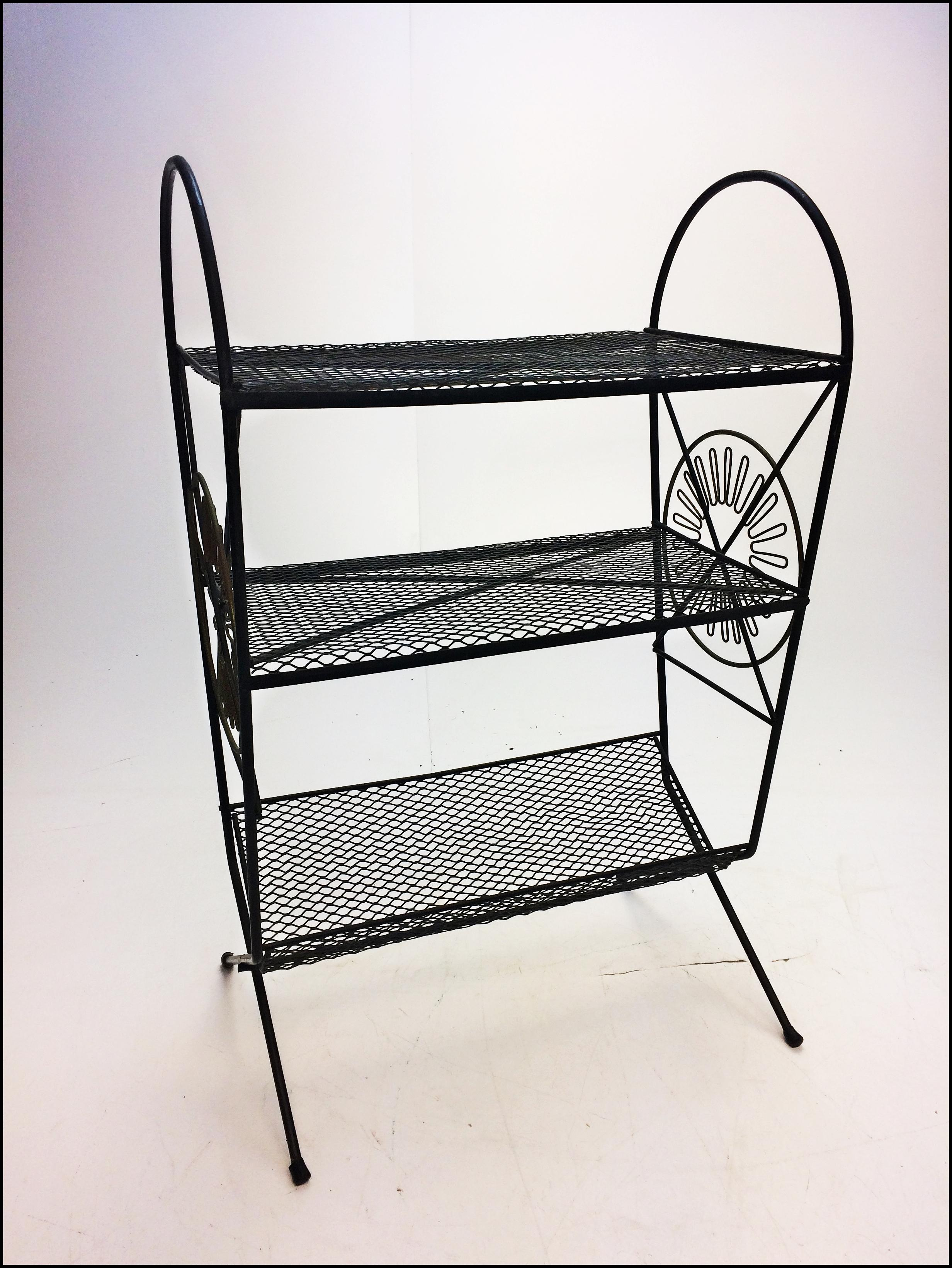 Mid Century Wire Rack - WIRE Center •