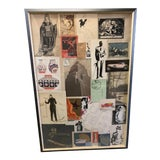 Image of 1920s-1930s Mostly Hand Drawn and Painted Advertising Works in Collage For Sale