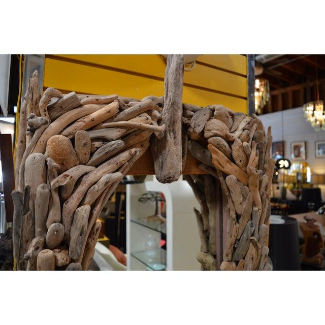 California Modern Driftwood Mirror - Image 3 of 4