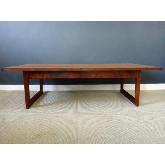 Jens Risom Mid Century Coffee Table - Image 3 of 6