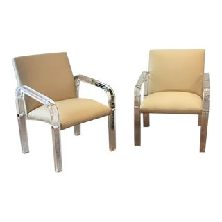 1970s Charles Hollis Jones Arm Chairs - a Pair For Sale