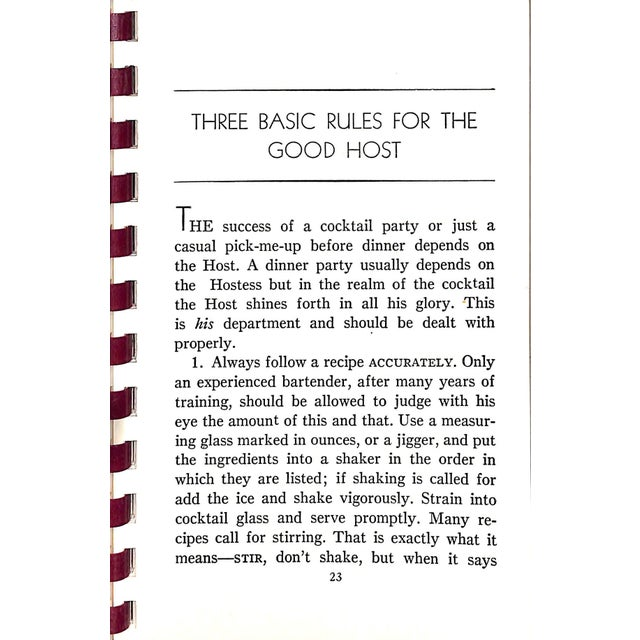 """The Standard Cocktail Guide"" Book - Image 5 of 6"