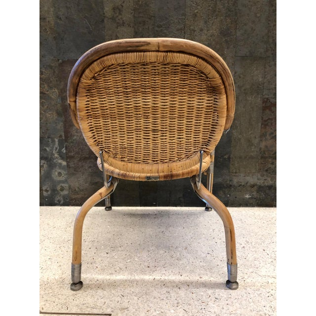 Mats Theselius Pair Mats Theselius Cane Chairs For Sale - Image 4 of 8