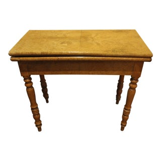 French Games Table c. 1840 For Sale
