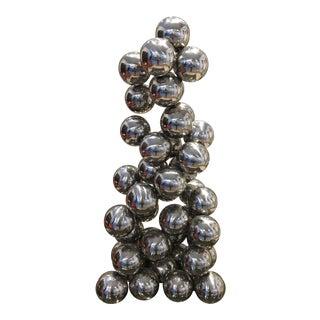 Vintage Ball Sculpture For Sale