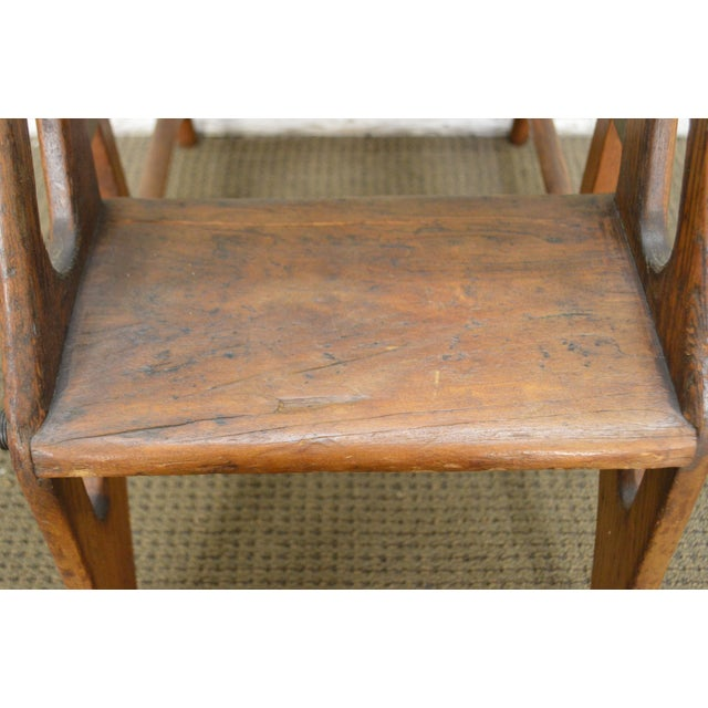 Antique 19th Century Folding Stepping Stool For Sale - Image 12 of 13
