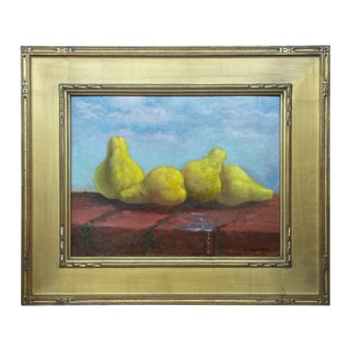 21st Century Vintage Still Life Oil Painting by Kenneth Milton For Sale