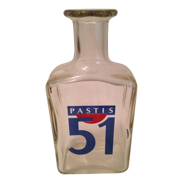 Vintage French Pastis 51 Carafe For Sale
