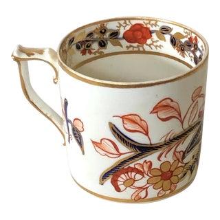 Georgian Derby Porcelain Imari Pattern Coffee Can Espresso Cup, C.1820 For Sale