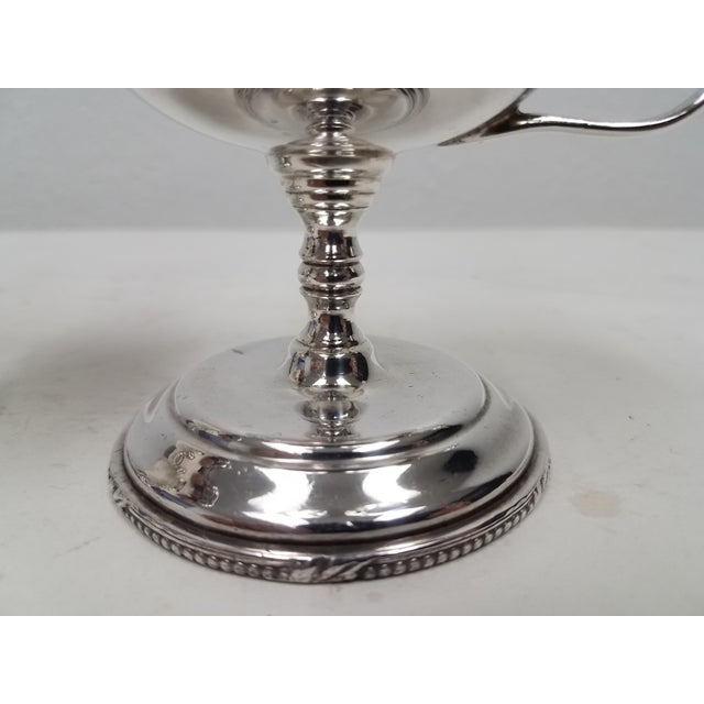 English Antique English S Gladwin Silverplate Sorbet Dessert Cups - a Pair For Sale - Image 3 of 5