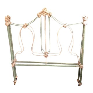 19th Century Antique Iron French Day Bed