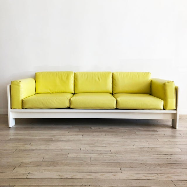 "1970s Vintage Tobia Scarpa for Knoll ""Bastiano"" 3 Seater Sofa For Sale - Image 11 of 11"