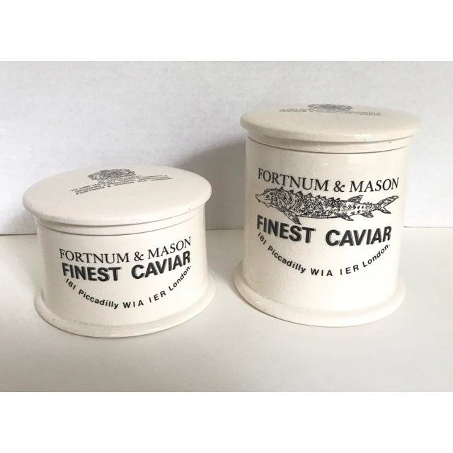 A great pair of vintage Fortnum and Mason lidded vessels that will make you feel like royalty! No chips or scratches-...