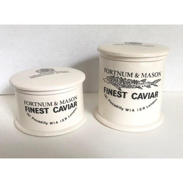 Vintage Fortnum & Mason Lidded Jars - A Pair - Image 2 of 6