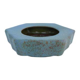 Honeycomb Italian Art Pottery Bowl For Sale
