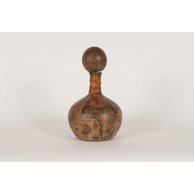 Italian Leather-Covered Bottle - Image 2 of 4