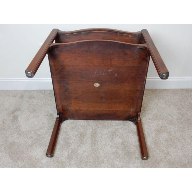 Baker Furniture Large 2 Tier Mahogany Table - Image 10 of 11