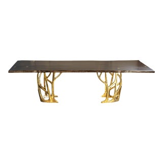 Astele Bronze Grove Dining Table For Sale