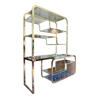 1970s Vintage Milo Baughman for the Design Institute Etagere For Sale