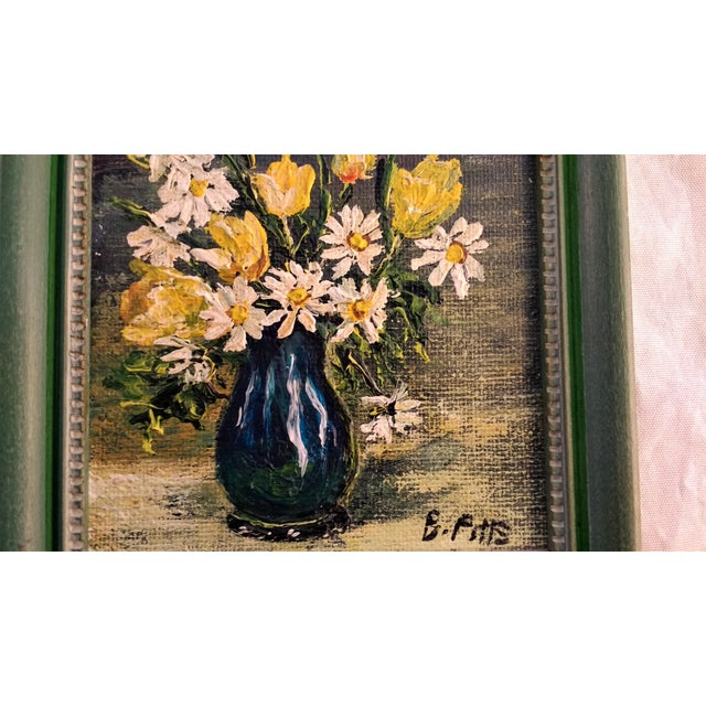 Mini Still Life Oil Painting - Image 4 of 5